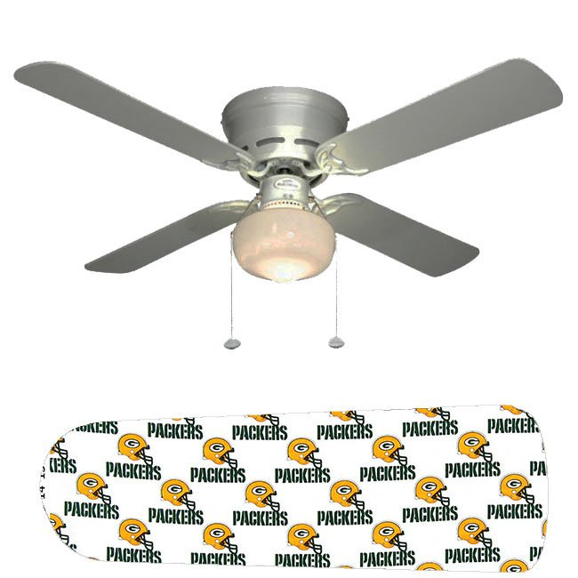 Green Bay Packers Ceiling Fan w/Light Kit or Blades Only or Ceiling Lamp