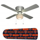 Chicago Bears Ceiling Fan w/Light Kit or Blades Only or Ceiling Lamp