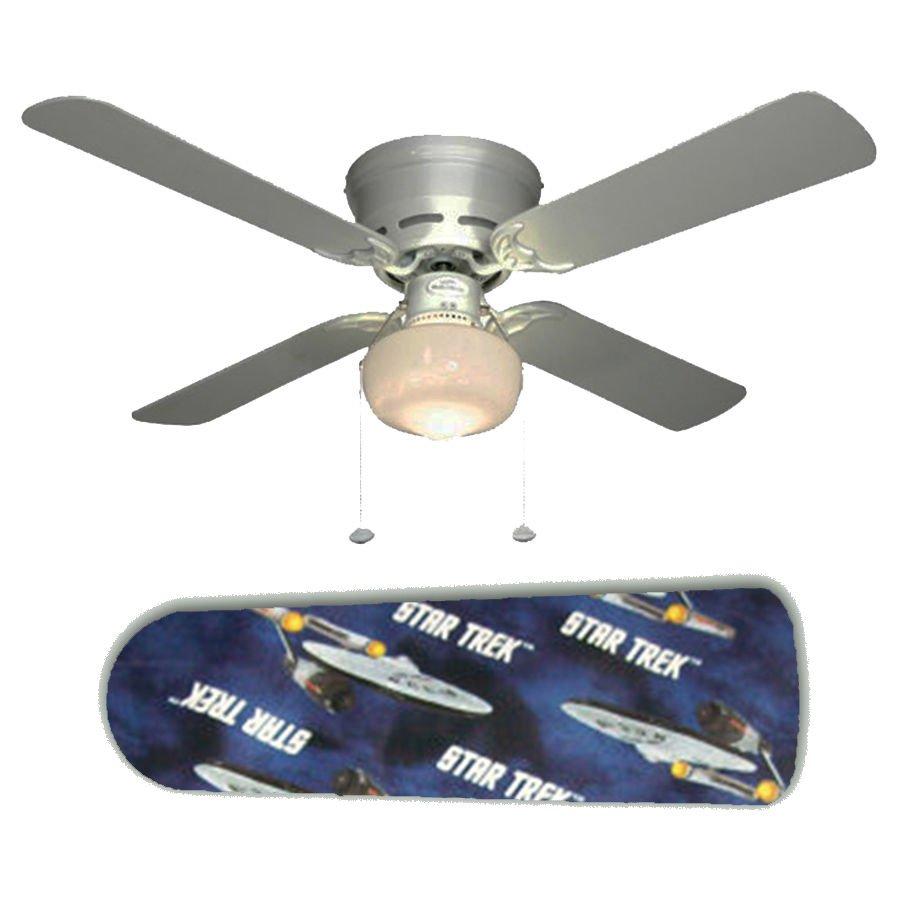 Star Trek Ceiling Fan w/Light Kit or Blades Only or Ceiling Lamp