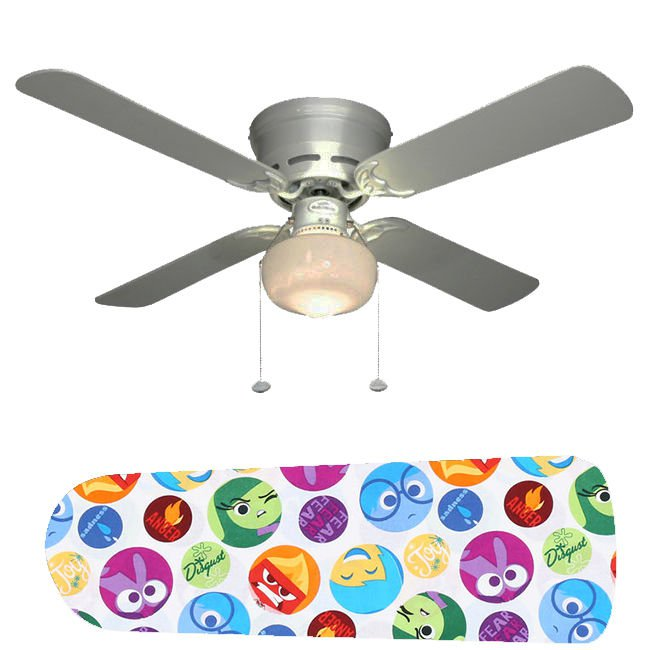 Inside Out Ceiling Fan w/Light Kit or Blades Only or Ceiling Lamp