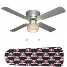 San Francisco 49ers Ceiling Fan w/Light Kit or Blades Only or Ceiling Lamp