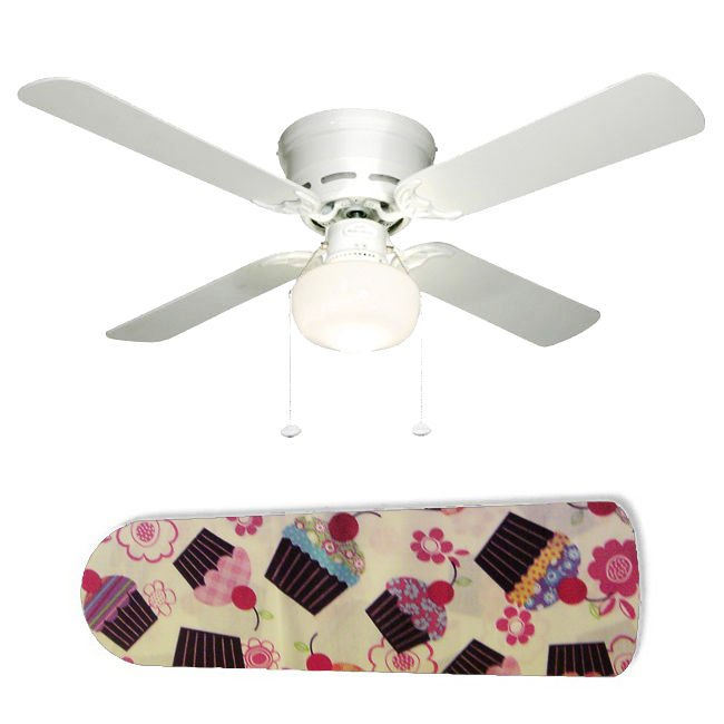 Cute Cupcakes Kitchen/Girls Ceiling Fan w/Light or Blades Only or Ceiling Lamp