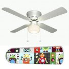 Little Boy's Robot Ceiling Fan w/Light Kit or Blades Only or Ceiling Lamp