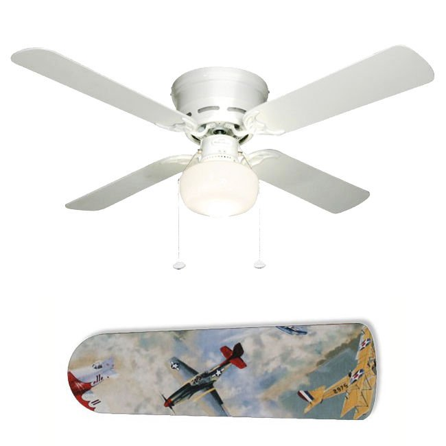 Vintage Airplanes Planes Fan w/light or blades only or ceiling lamp