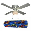 Hot Choppers Motorcycle Ceiling Fan w/Light Kit or Blades Only or Ceiling Lamp
