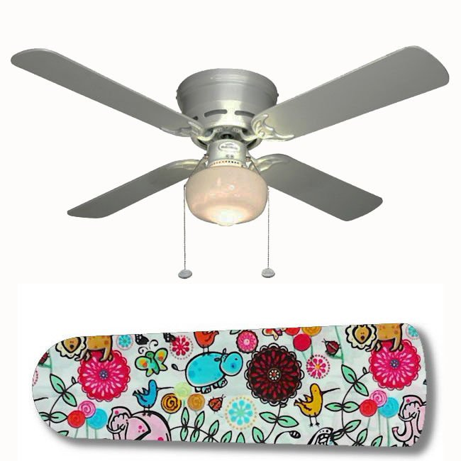Adorable Animals Fan w/light or blades only or ceiling lamp