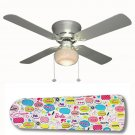Barbie Says Ceiling Fan w/Light Kit or Blades Only or Ceiling Lamp