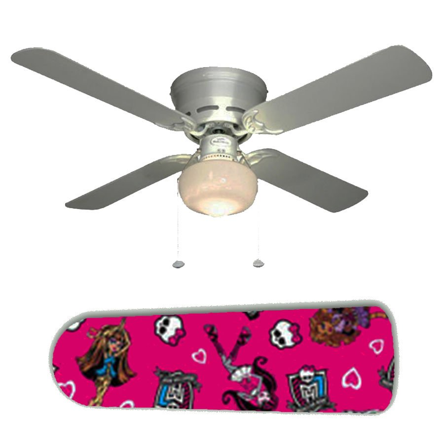 Monster High Ceiling Fan w/light kit or blades only or ceiling lamp