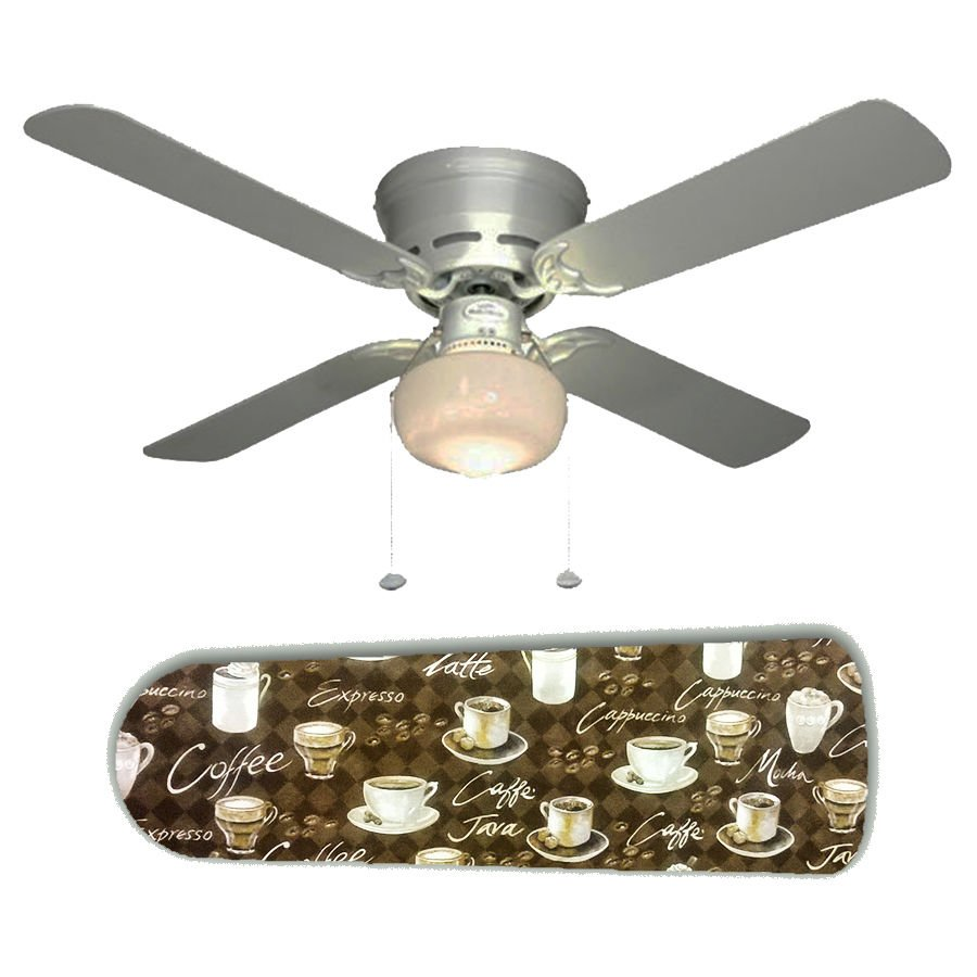 Coffee Mocha Java Ceiling Fan w/light kit or blades only or ceiling lamp