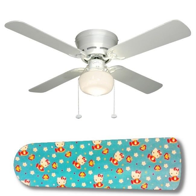 Hello Kitty Butterflies Ceiling Fan w/light or blades only or ceiling lamp