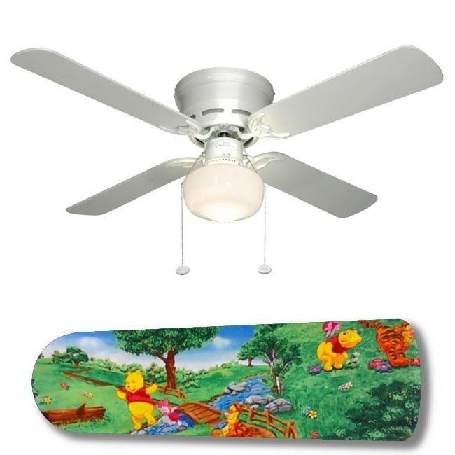 Winnie the Pooh at the Park Ceiling Fan w/light or blades only or ceiling lamp