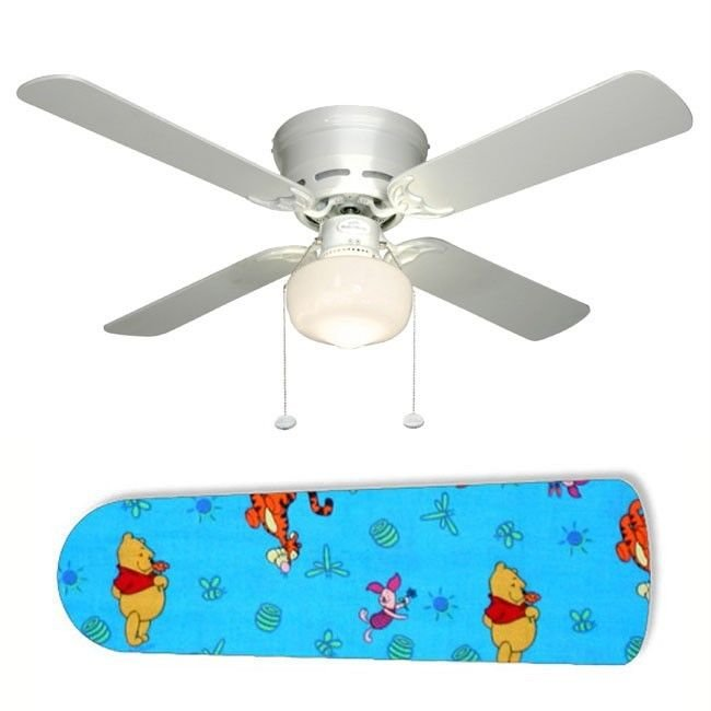 Winnie the Pooh & Tigger Ceiling Fan w/light kit or blades only or ceiling lamp