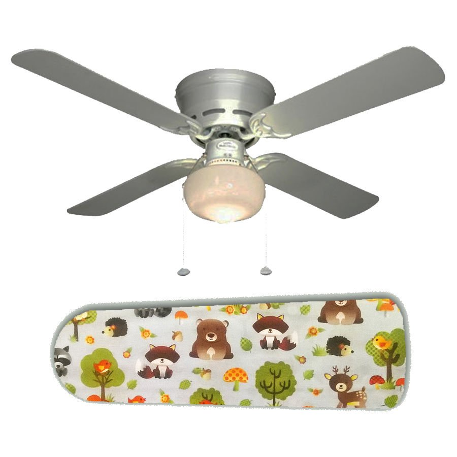Forest Friends Nursery Ceiling Fan w/Light Kit or Blades Only or Ceiling Lamp