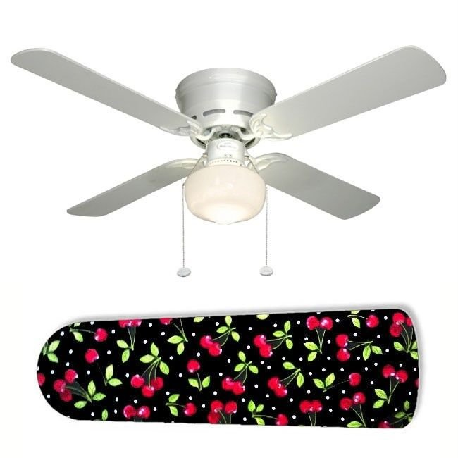 Cheery Cherries Ceiling Fan w/Light or Blades Only or Ceiling Lamp