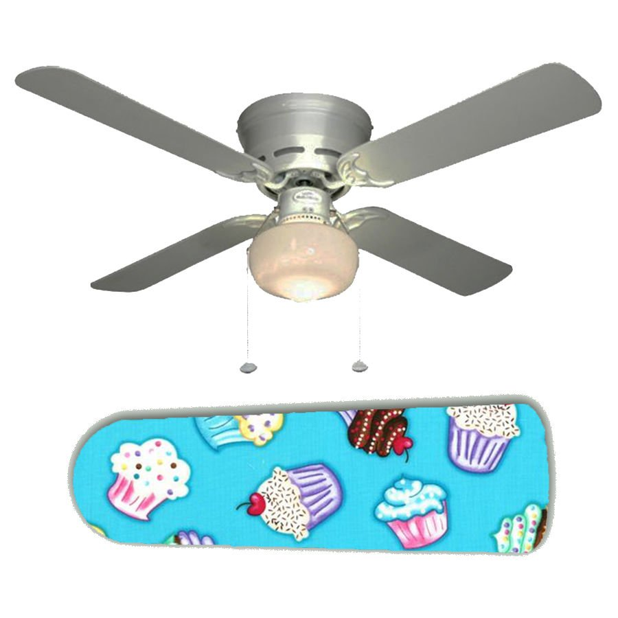 Sweet Cupcakes Ceiling Fan w/Light Kit or Blades Only or Ceiling Lamp