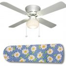 Daisy Ceiling Fan w/light kit or blades only or ceiling lamp