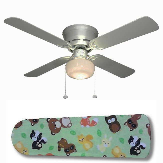 Forest Animal Friends Ceiling Fan w/Light Kit or Blades Only or Ceiling Lamp