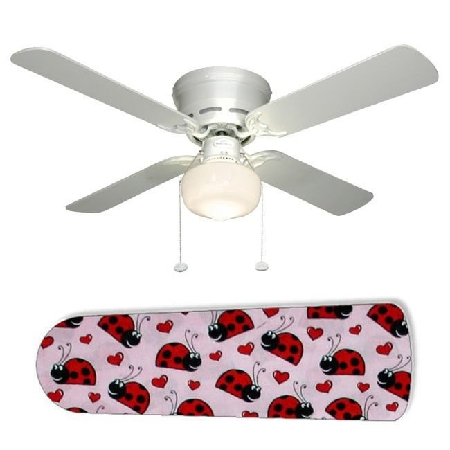 Ladybug Ceiling Fan w/Light Kit or Blades Only or Ceiling Lamp