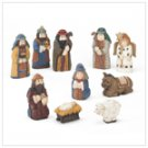 Resin Nativity Set  37558
