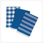 Blue/White Kitchen Towels   36500