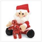 Santa Christmas Plush with Gel  37066