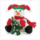 Christmas Plush Snowman with Gel  37067
