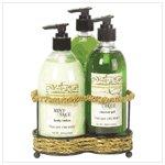 Mint and Sage Bath Set  38059