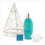 Winter Frost Bath Basket   38243