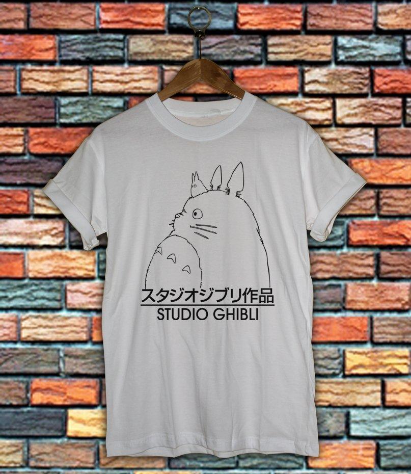 Studio Ghibli Shirt Women And Men Totoro Shirt SG03