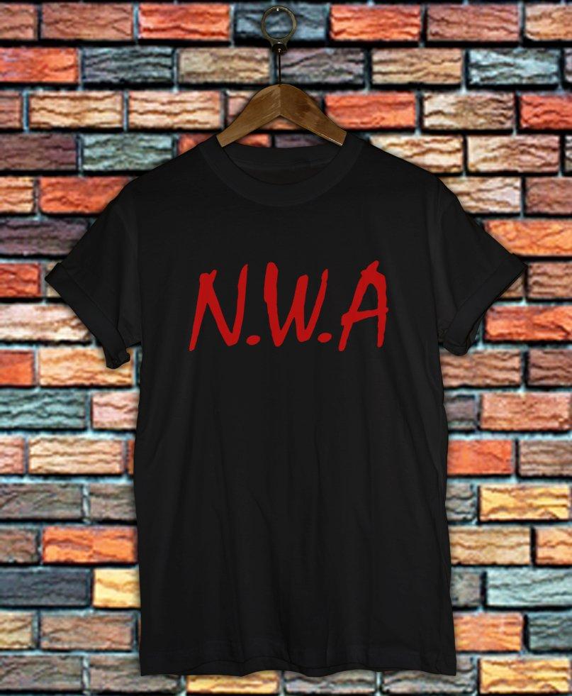 NWA Shirt Women And Men NWA Logo Shirt LNWA01