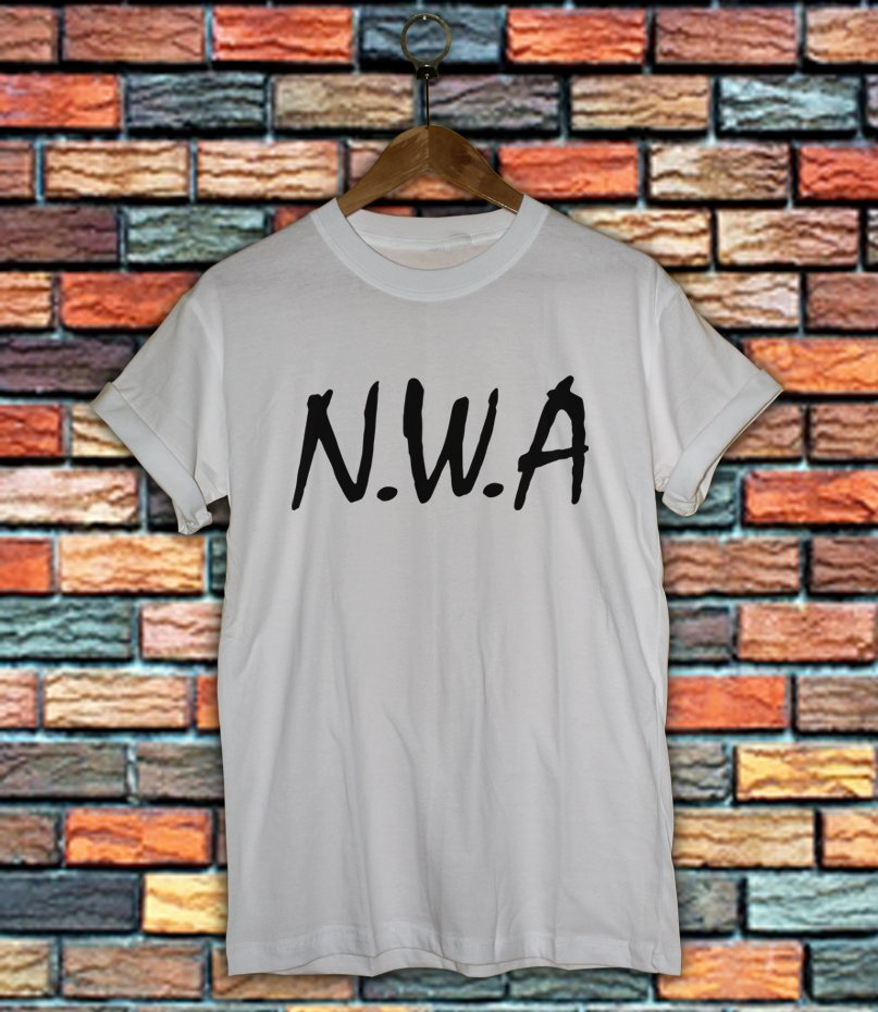 NWA Shirt Women And Men NWA Logo Shirt LNWA03