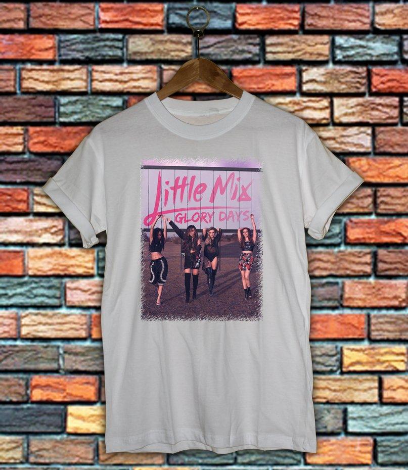 Little mix Shirt Women And Men Little mix style womens Glory Days Female T Shirt LM02