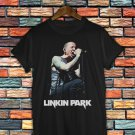 Chester Bennington RIP Linkin Park Black T-Shirt Linkin Park T Shirt Tee Size S-2XLCB01