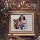 No Count Cross Stitch Kit &quot;Story Time&quot; Girl Teddy Bear Heirloom Treasure 5249