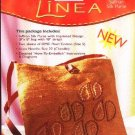 "Linea Embroidered Saffron Silk Purse Kit 8"" x 8"" Bag Evening Purse"