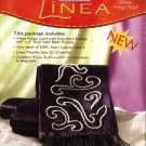 Linea Craft Kit Embroidered Wine Fringe Scarf - 60&quot; x 4&quot;
