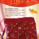 Linea Complete Kit 'Fuchsia Silk Purse' Embroidered Bag DMC Creative World