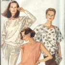 New Look Sewing Pattern 6680 Misses Size 8-18 Pullover Tops Blouses