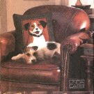 "Vogue Sewing Pattern 7441 Linda Carr ""Dog"" Theme Pillows Cushions"