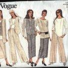 Vogue Pattern 1174 Size 14-18 Easy Wardrobe Jacket Vest Tunic Skirt Pants