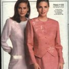 Vogue Pattern 7844  Size 6-16 Easy Jacket Skirt Pants Top