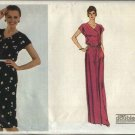 Vogue Sewing Pattern 7646 Misses Size 14-16 Easy Long Short Button Front Dress