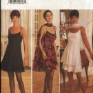 ButterickSewing Pattern 3804 Misses Size 6-10 Formal Empire Waist Layered Skirt Dress Stole