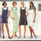 Butterick Sewing Pattern 3928 Misses Size 6-8-10 Easy Classic Straight Jumpers Jumpsuit Knit Top