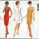 Butterick Sewing Pattern 3941 Misses Size 6-8-10 Easy Classic Sleeveless Straight Dress Jacket