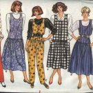 Butterick Sewing Pattern 4024 Misses Size 12-16 Classic Easy Dropped Waist Jumper Jumpsuit