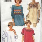 Butterick Sewing Pattern 4015 Misses Size 6-8-10 Easy Loose-fitting Pullover Top
