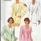 Butterick Sewing Pattern 4012 Misses Size 6-8-10 Easy Unlined Long Sleeve Princess Seam Jacket