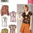New Look Sewing Pattern 6205 Misses Size 10-22 Pullover Tops Sleeve Variations