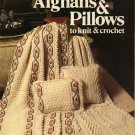 Leisure Arts #149 Afghans Pillows Knit Crochet Marion Graham